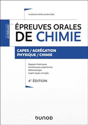 Epreuve orale de chimie : Capes, agrégation physique chimie