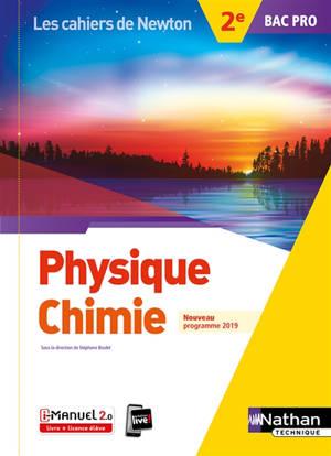 Physique chimie, 2e bac pro : nouveau programme 2019