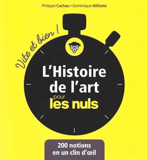 L'histoire de l'art pour les nuls : 200 notions en un clin d'oeil