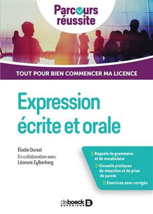 Expression écrite et orale : tout pour bien commencer ma licence