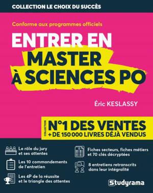 Entrer en master à Sciences Po : conforme aux programmes officiels