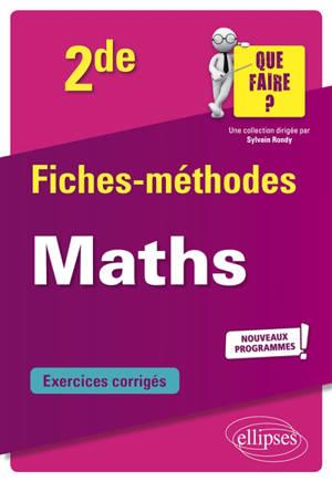 Mathématiques 2de : nouveaux programmes