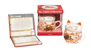 Coffret mug chat de la fortune