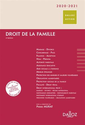 Droit de la famille 2020-2021
