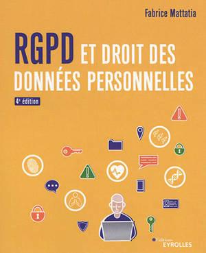 RGPD et droit des données personnelles
