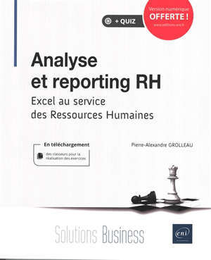 Analyse et reporting RH : Excel au service des ressources humaines