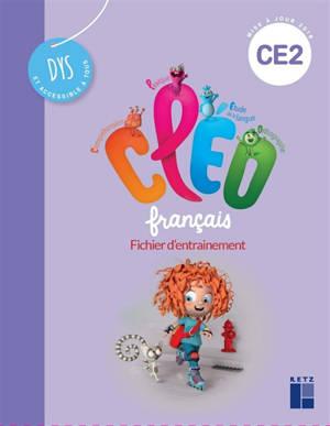 CLEO, français CE2 dys : fichier d'entraînement