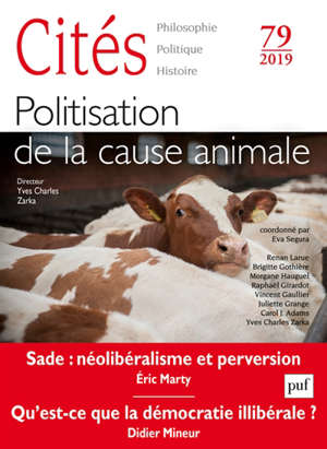 Cités. n° 79, Politisation de la cause animale
