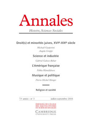 Annales. n° 3 (2018)