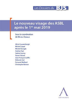 Le nouveau visage des ASBL après le 1er mai 2019