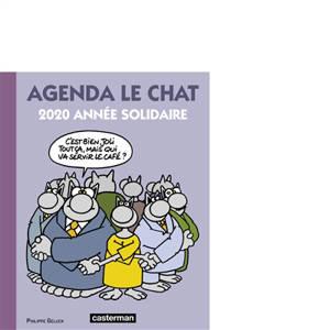 Agenda Le Chat 2020 : année solidaire