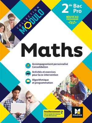 Maths 2de bac pro : nouveau programme 2019