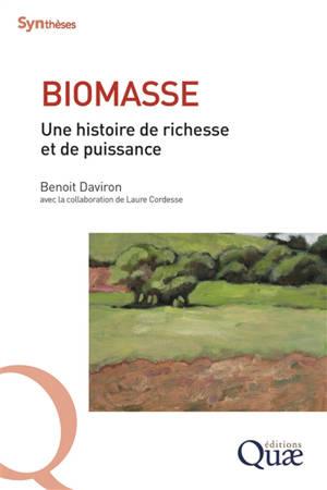 Biomasse : une histoire de richesse et de puissance