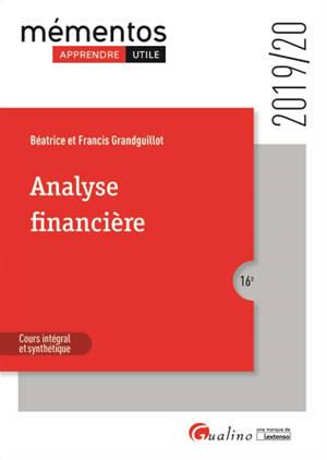 Analyse financière : 2019-2020