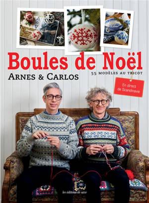Boules de Noël : 55 modèles au tricot