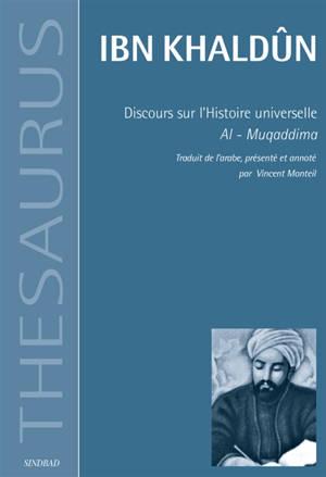 Discours sur l'histoire universelle : Al-Muqaddima