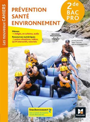 Prévention, santé, environnement, 2de bac pro : nouveau programme 2019