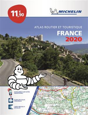 France 2020 : atlas routier et touristique = France 2020 : tourist and motoring atlas = France 2020 : Strassen- und Reiseatlas