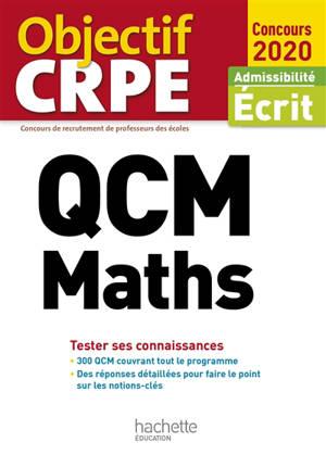 QCM maths : tester ses connaissances : admissibilité écrit, concours 2020