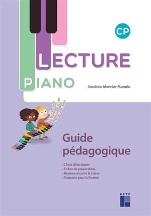 Lecture piano, CP : guide pédagogique