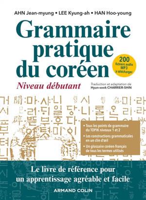 Grammaire pratique du coréen : niveau débutant