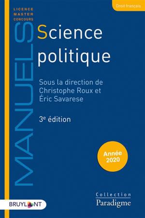 Science politique : année 2019-2020