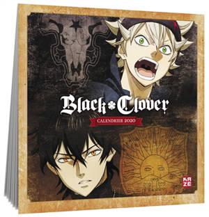Black Clover : calendrier 2020
