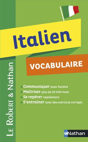 Italien : vocabulaire