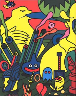 Total geek-art : une anthologie artistique de la pop culture