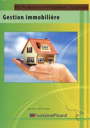 Gestion immobilière BTS professions immobilières, licences