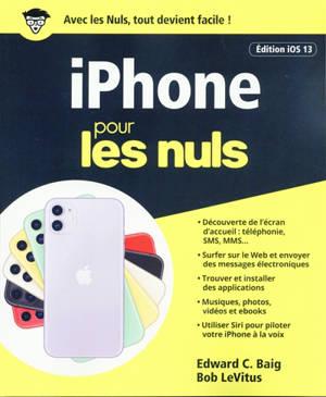 iPhone pour les nuls : édition iOS 13