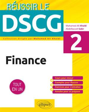 DSCG UE 2 : finance : nouveau programme