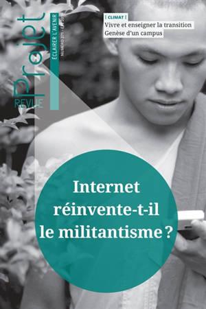 Projet. n° 371, Internet réinvente-t-il le militantisme ?