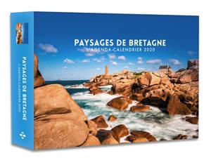 Paysages de Bretagne : l'agenda-calendrier 2020