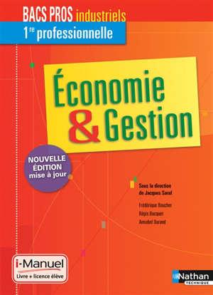 Economie et gestion, 1re bacs pros industriels