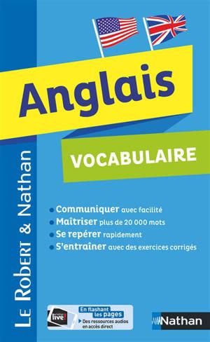 Anglais : vocabulaire