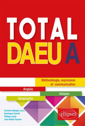 Total DAEU A : méthodologie, expression et communication