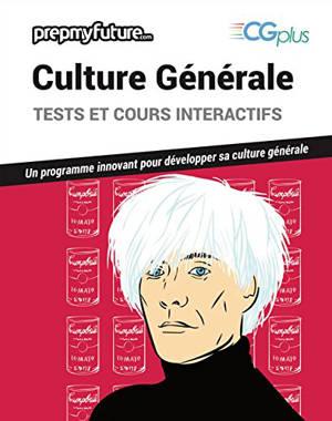 Culture générale, CG plus : tests et cours interactifs