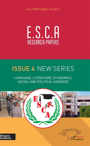 ESCA research papers : issue 4 new series : language, literature, economics, social and political sciences