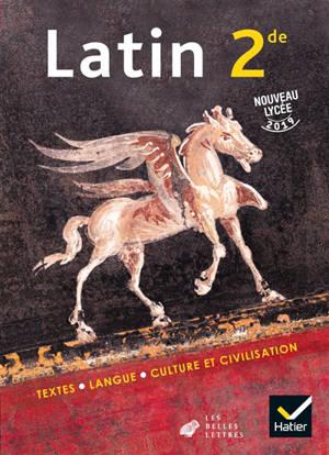 Latin 2de : nouveau lycée 2019