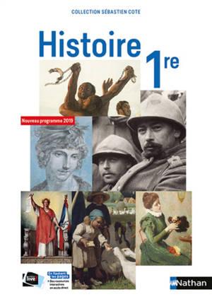 Histoire 1re : nouveau programme 2019