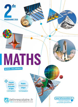 Maths 2de : programme 2019