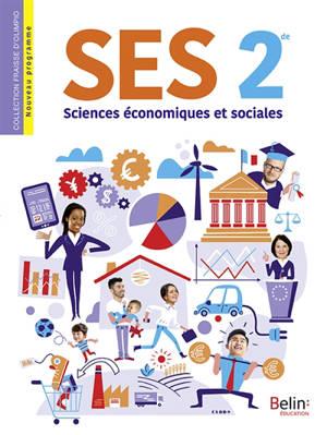 SES, sciences économiques et sociales 2de : nouveau programme