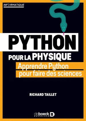 Python pour la physique : apprendre Python pour faire des sciences