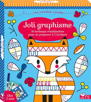 Joli graphisme : 10 tableaux réutilisables pour se préparer à l'écriture