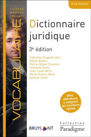 Dictionnaire juridique