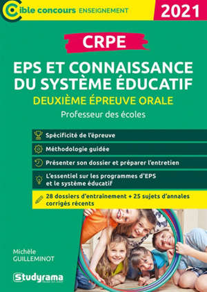CRPE, deuxième épreuve orale, EPS et connaissance du sytème éducatif : concours enseignant, master MEEF, ESPE