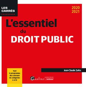 L'essentiel du droit public : 2020-2021