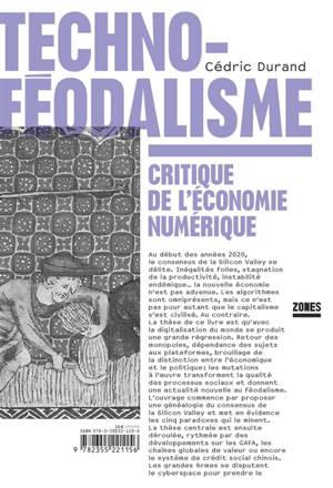 Technoféodalisme : critique de l'économie numérique