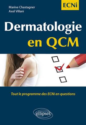 Dermatologie en QCM : tout le programme des ECNi en questions